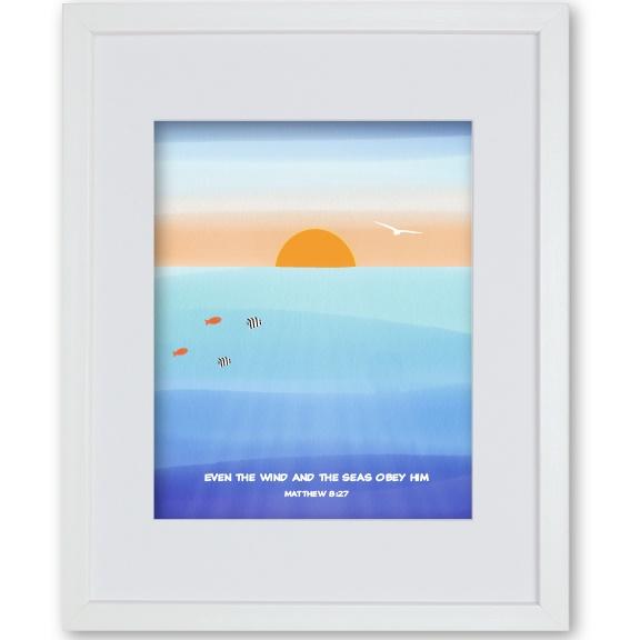 Godson Gift Framed Print - Ocean